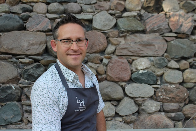 Chef Jason Bangerter giving a big smile