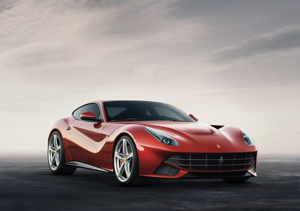 The elegant Ferrari F12