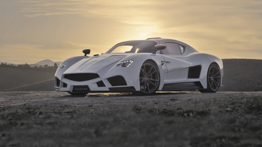 The Mazzani one of the top luxury Italian car s on the market