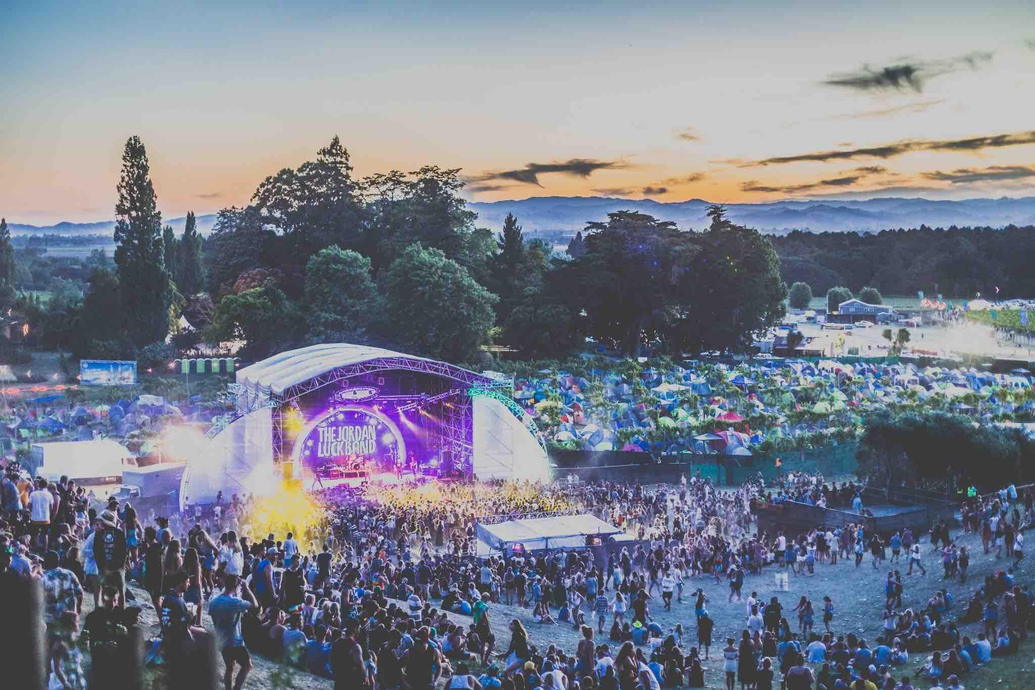 Rhythm & Vines Stage Gisborne New Zealand events
