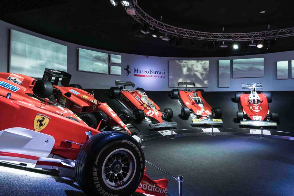 Things to do at the Ferrari Museum in Italy include looking at its race cars
