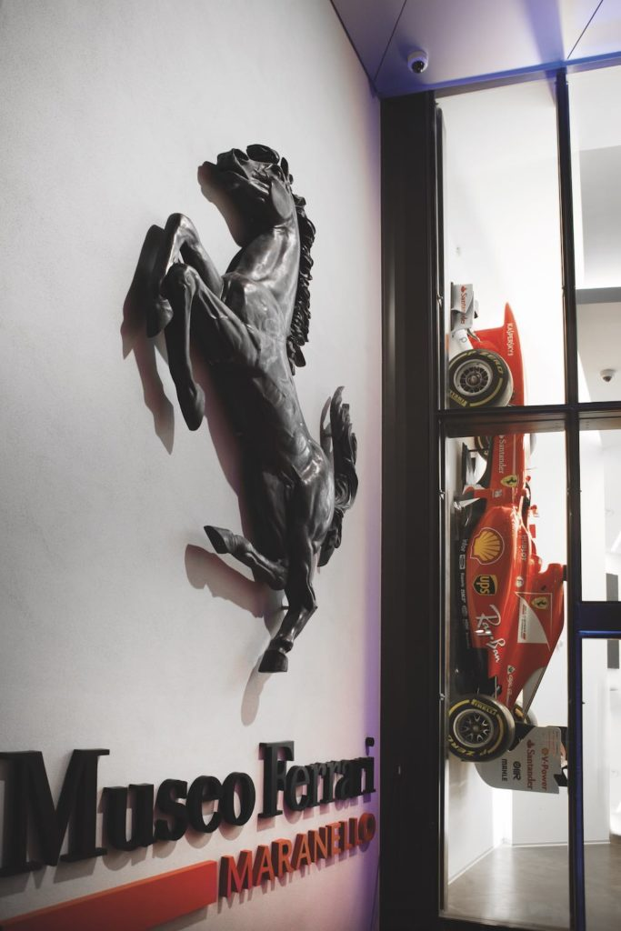 Things to do in the Ferrari Museum include visiting the grand prix exhibit
