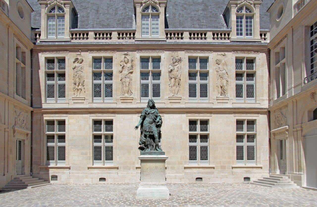 Museum Carnavalet Courtyard