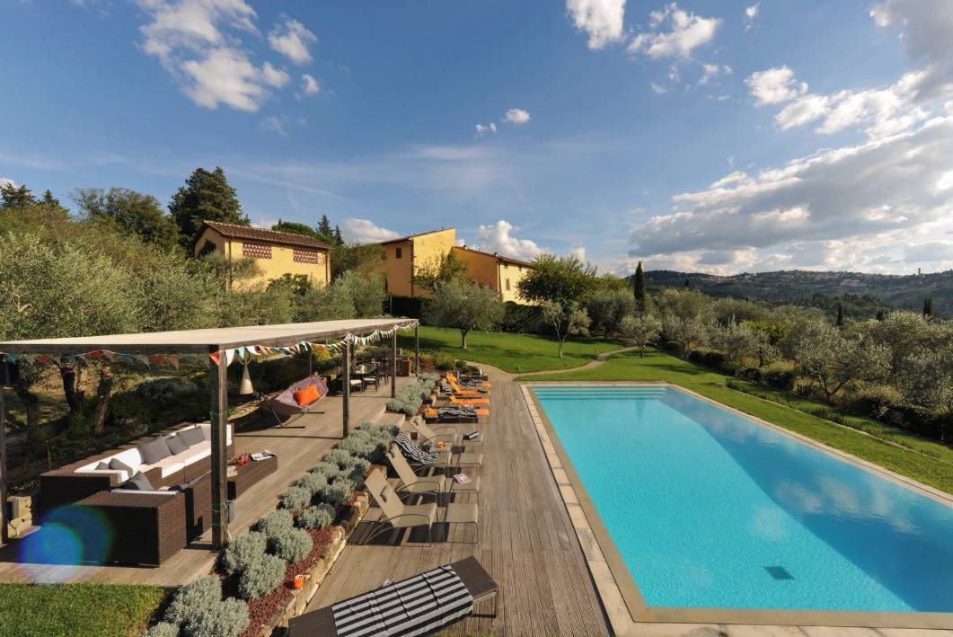 Why not consider a luxury villa, such as this example from leading rental company Tuscany Now More