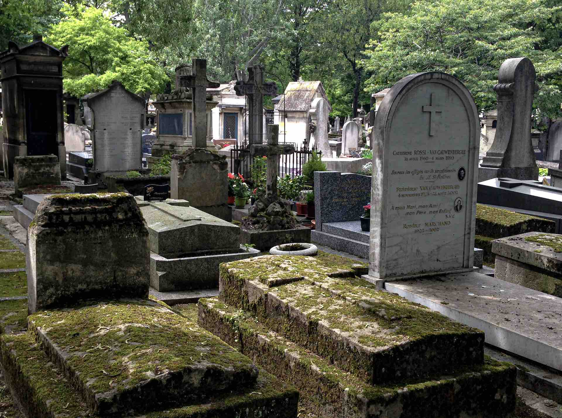 The historic Montmartre cemetery is one of the top things to do in Paris for book lovers