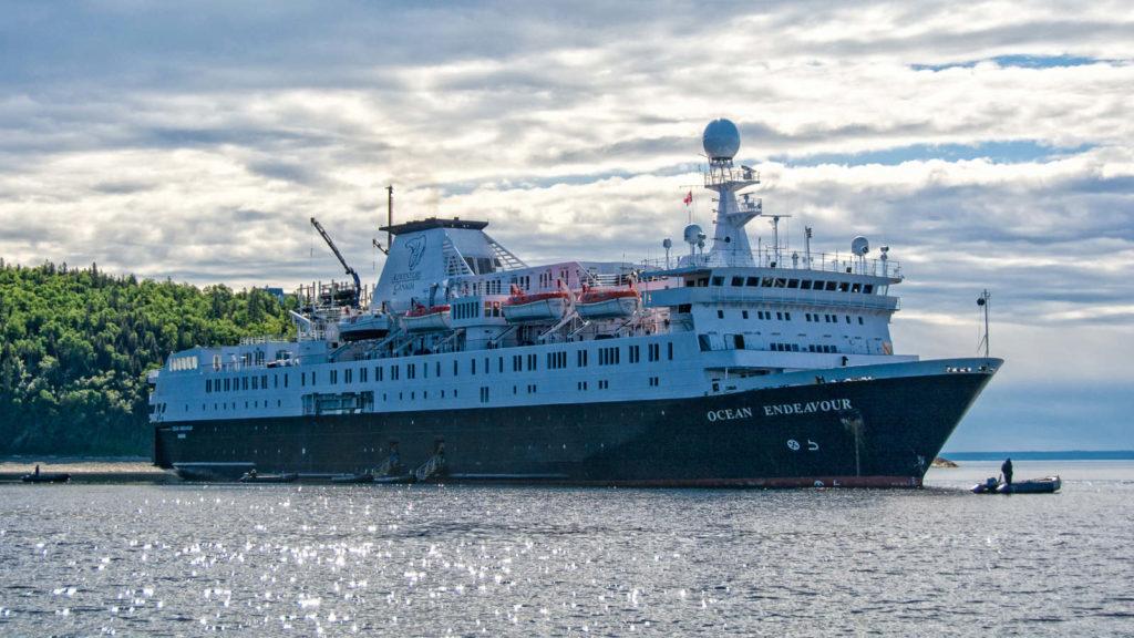 Adventure Canada's Ocean Endeavour ship