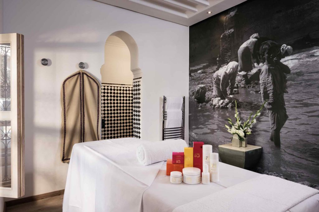 The spa at Riad Farnatchi