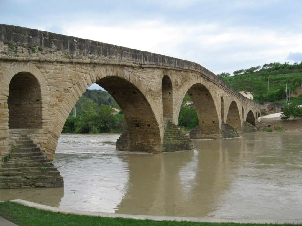 One of the many bridges built by nobles along the Camino de Santiago
