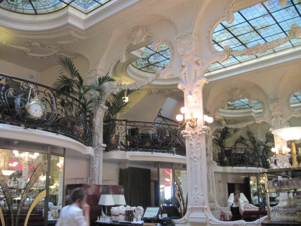 The Grand Cafe in Moulins is a must visit when exploring Coco Chanel's Auvergne roots